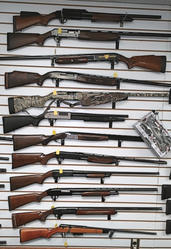 Variety of hunting and recreational shooting guns for buy-sell-trade-pawn at Bank Gun and Pawn in Havre de Grace, MD