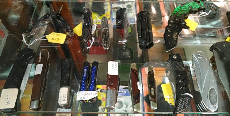 knives to buy-sell-trade-pawn at Bank Gun and Pawn in Havre de Grace MD