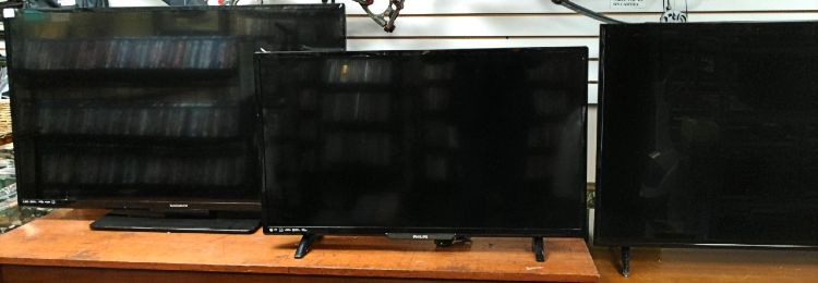large screen tvs at Bank Gun and Pawn in Havre de Grace, MD